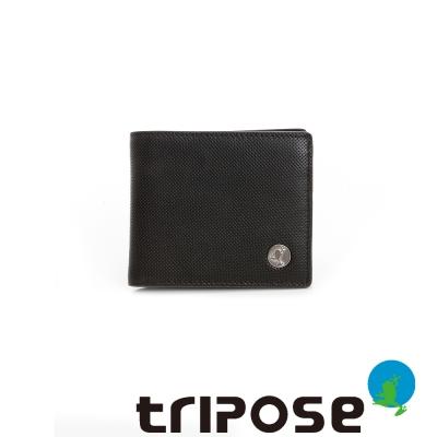 tripose   Yuppie系列經典款男短夾 -深咖