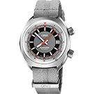 Oris豪利時 CHRONORIS 日期機械錶-灰/39mm