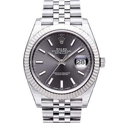 ROLEX 勞力士 Datejust 126334 日誌型機械腕錶x灰面x41mm