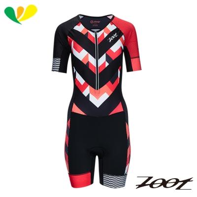 ZOOT 頂級風動力學連身鐵人衣(女)(彩紋粉) Z1706003