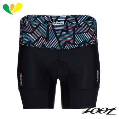 ZOOT 專業級6吋肌能鐵人褲(女)(線彩黑) Z1706009