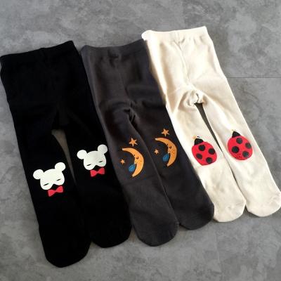 DF 童趣館 - 暖暖寶貝貼心連身褲襪-共3色