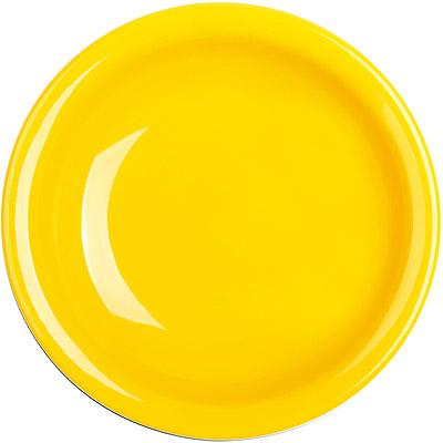 EXCELSA Fashion陶製深餐盤(黃22cm)