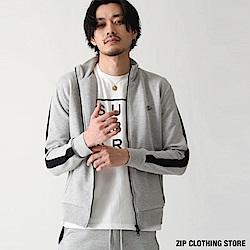 運動休閒夾克外套(2色) ZIP日本男裝