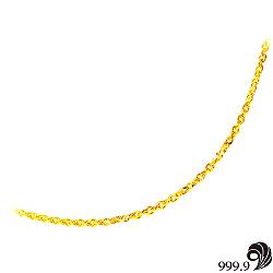 【歷代風華】幸福黃金(約1.5錢)項鍊