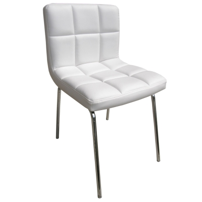 E-Style 高級精緻PU皮革椅面-洽談椅/電腦椅/會客椅/餐椅(三色可選)1入組