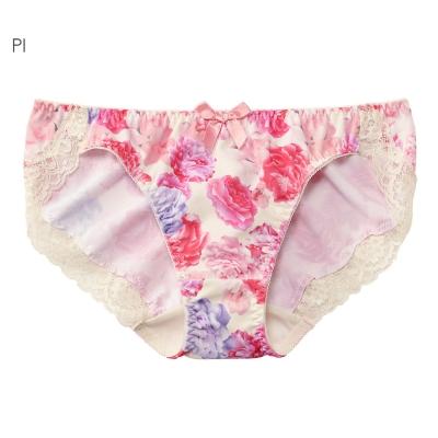 aimerfeel 芍藥玫瑰無痕內褲-粉紅色
