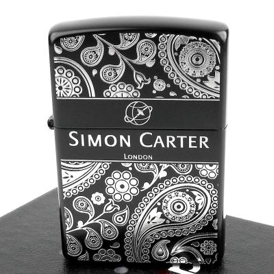 【ZIPPO】日系~ZIPPO x SIMON CARTER-英國袖扣品牌打火機-黑