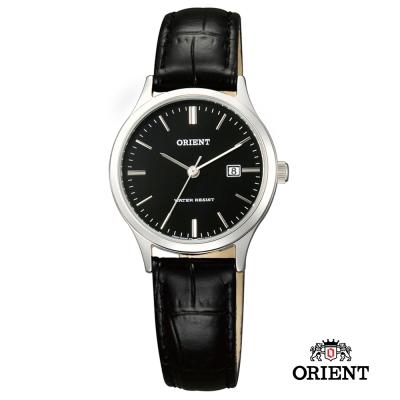 ORIENT 東方錶 TRADITIONAL STYLE系列 羅馬石英錶 皮帶款-28mm