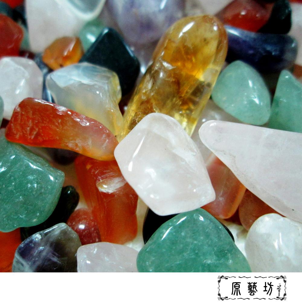【原藝坊】天然五行水晶碎石(粗)_1000公克