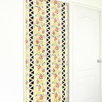 布安於室-古典玫瑰長門簾-多種尺寸