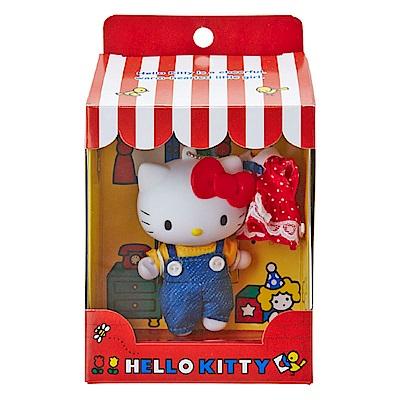 Sanrio HELLO KITTY可換裝可動玩偶吊鍊
