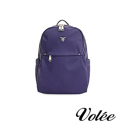 Volee飛行包 - 輕旅行輕便後背包-法國紫