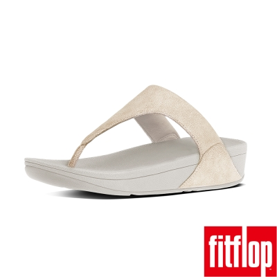 FitFlop TM-SHIMMY TM SUEDE TOE-THONG-淡金色