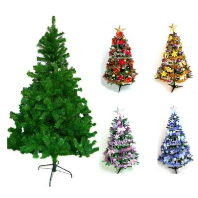台製15尺(450cm)豪華版綠色聖誕樹(+飾品組)(不含燈)