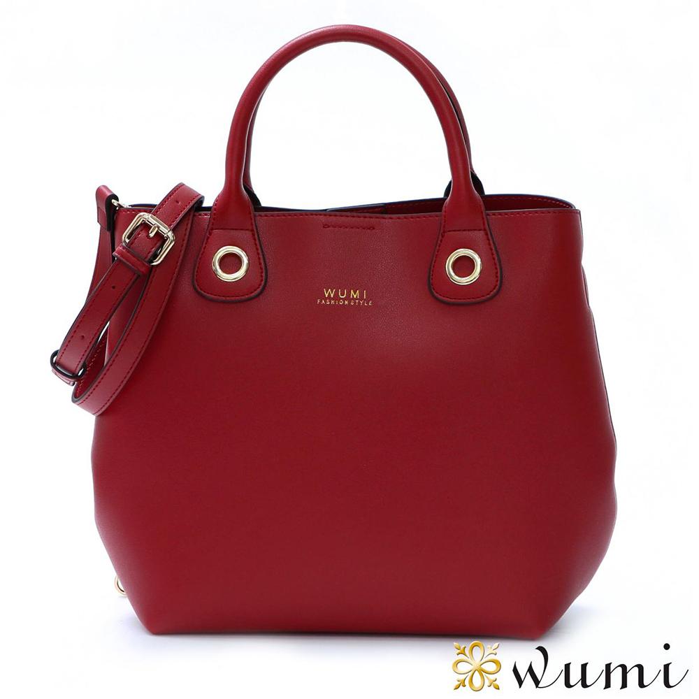WuMi 無米 奧蘿菈美型子母包 薔薇紅