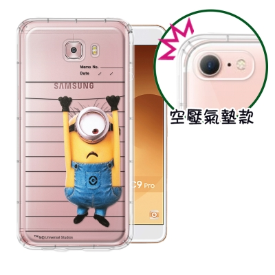 正版Minions小小兵Samsung Galaxy C9 Pro空壓安全手機殼...