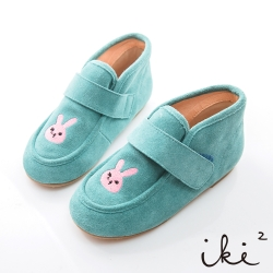 iki2童鞋-咕妮兔冒險系列復古休閒鞋-古靈精怪綠