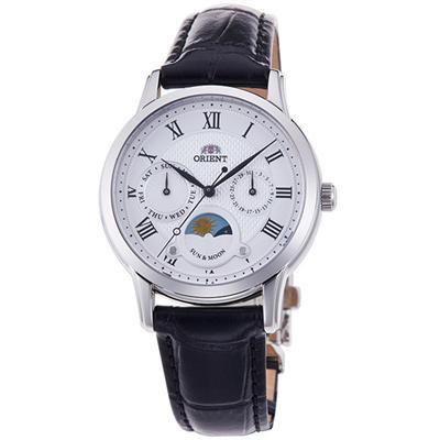 ORIENT 東方錶 SUN&MOON系列 日月相錶(RA-KA0006S)
