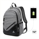 DF BAGSCHOOL - 革命便利性內建USB裝置後背包-共3色