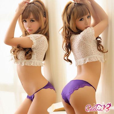 內褲 舒適內褲(紫) Caelia