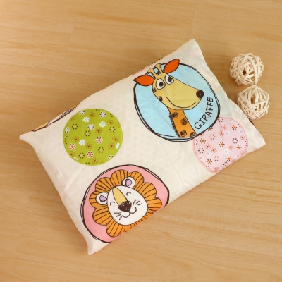 鴻宇HongYew 美國棉防蹣抗菌 歡樂動物園-兒童標準乳膠枕