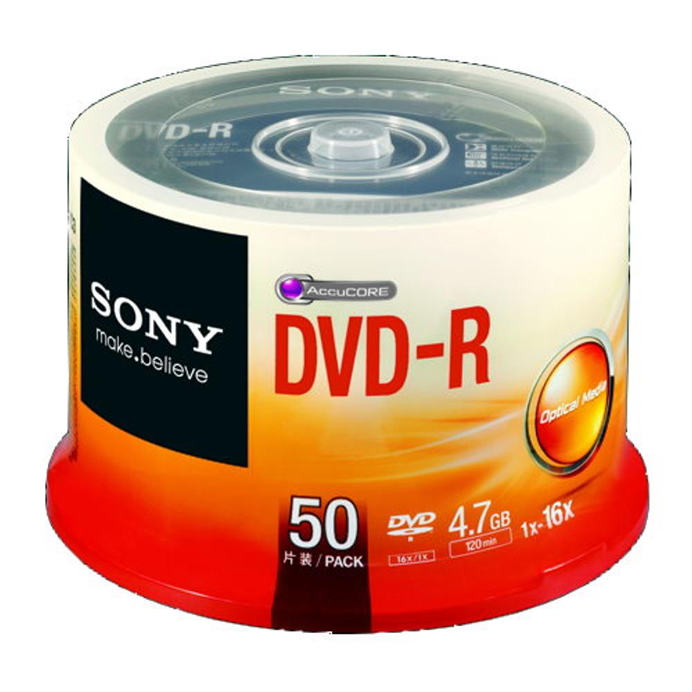 SONY 日本限定版 DVD-R 16X燒錄片 (100片)