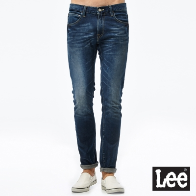 Lee 牛仔褲 709低腰合身小直筒牛仔褲- 男款-淺藍