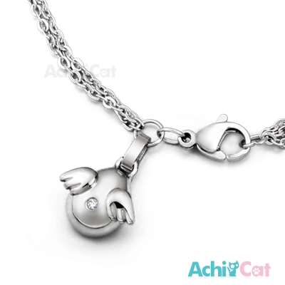 AchiCat 珠寶白鋼手鍊 天使傳說
