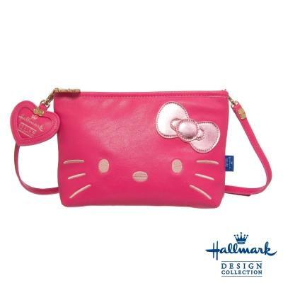 Hallmark 凱蒂聯名款手拿包-淘氣凱蒂系列-桃紅HLKT0C012PK