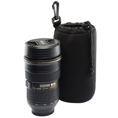 Kamera 潛水料鏡頭袋(L)-黑