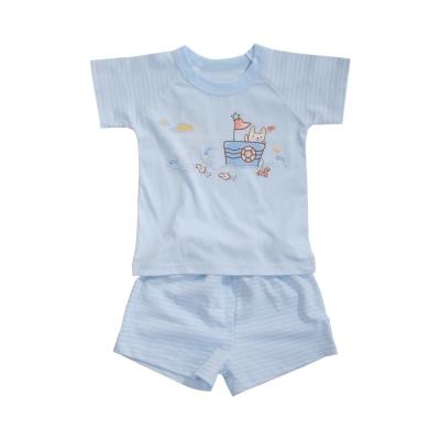 魔法Baby 台灣製兒童夏季短袖居家套裝 男女童裝 k40951