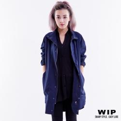 WIP X 2% 寬版闊型外套_藍