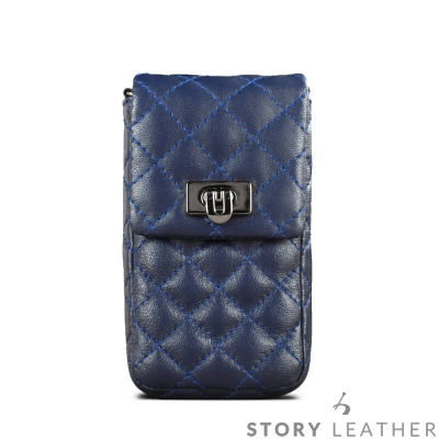STORYLEATHER Note 8 直式套袋菱格紋 客製化皮套
