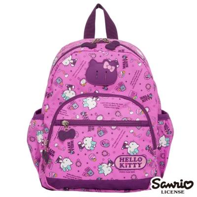 Hello Kitty-休閒潮流Ⅱ-後背包-小-粉紫-KT88B01PL