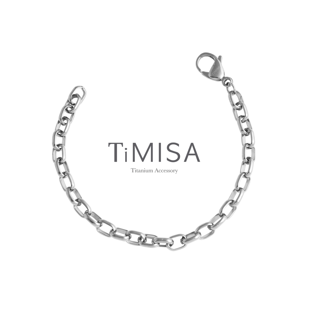 TiMISA《動感》純鈦手鍊(L)