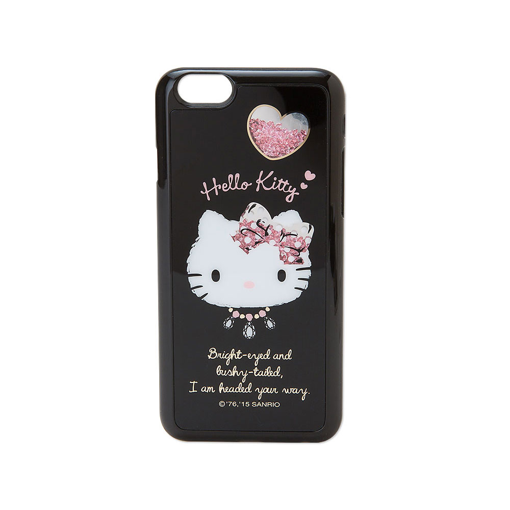 Sanrio HELLO KITTY閃亮搖搖碎鑽iPhone6硬殼保護殼