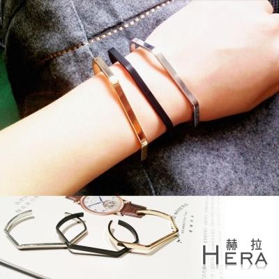 Hera 赫拉 U型菱形開口手環/手鐲(3款)