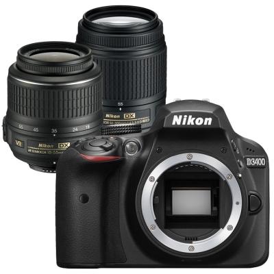 快-Nikon-D3400-18-55mm-55-300mmVR-雙鏡組-平輸中文