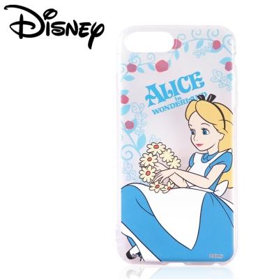 Disney迪士尼iPhone 6/6s/7 Plus共用防摔氣墊空壓保護套_賞花愛麗絲