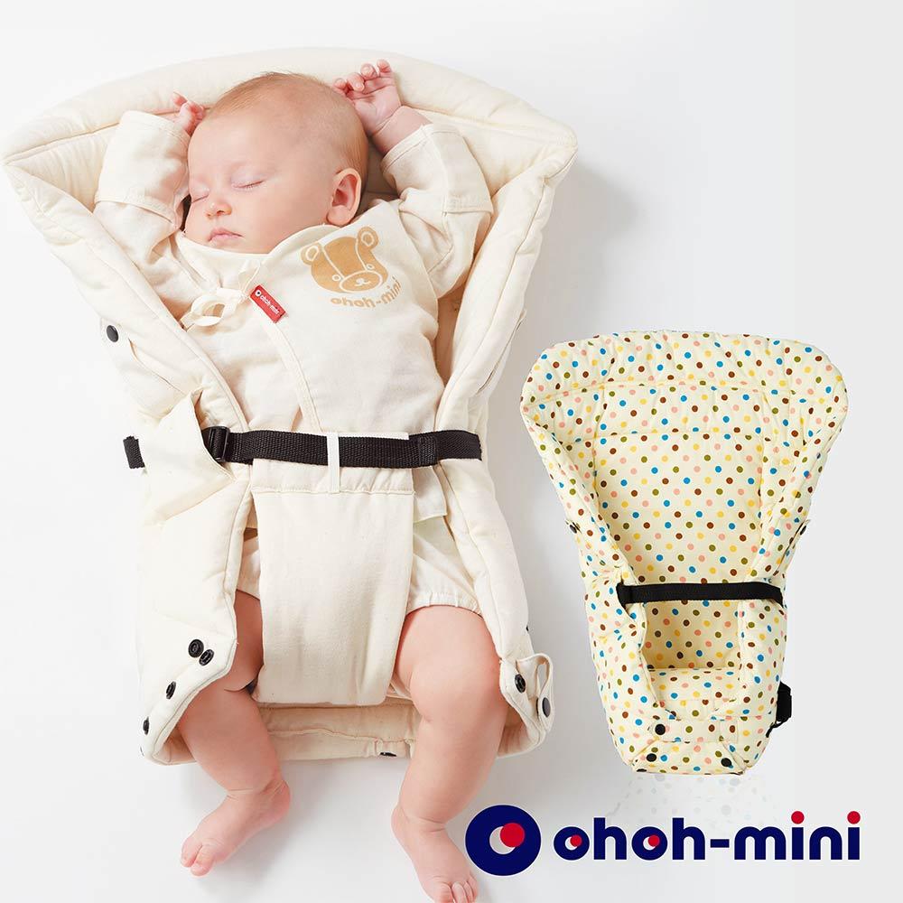 ohoh mini 孕婦裝 揹巾保護墊- 輕鬆揹心貼心系列-圓點白