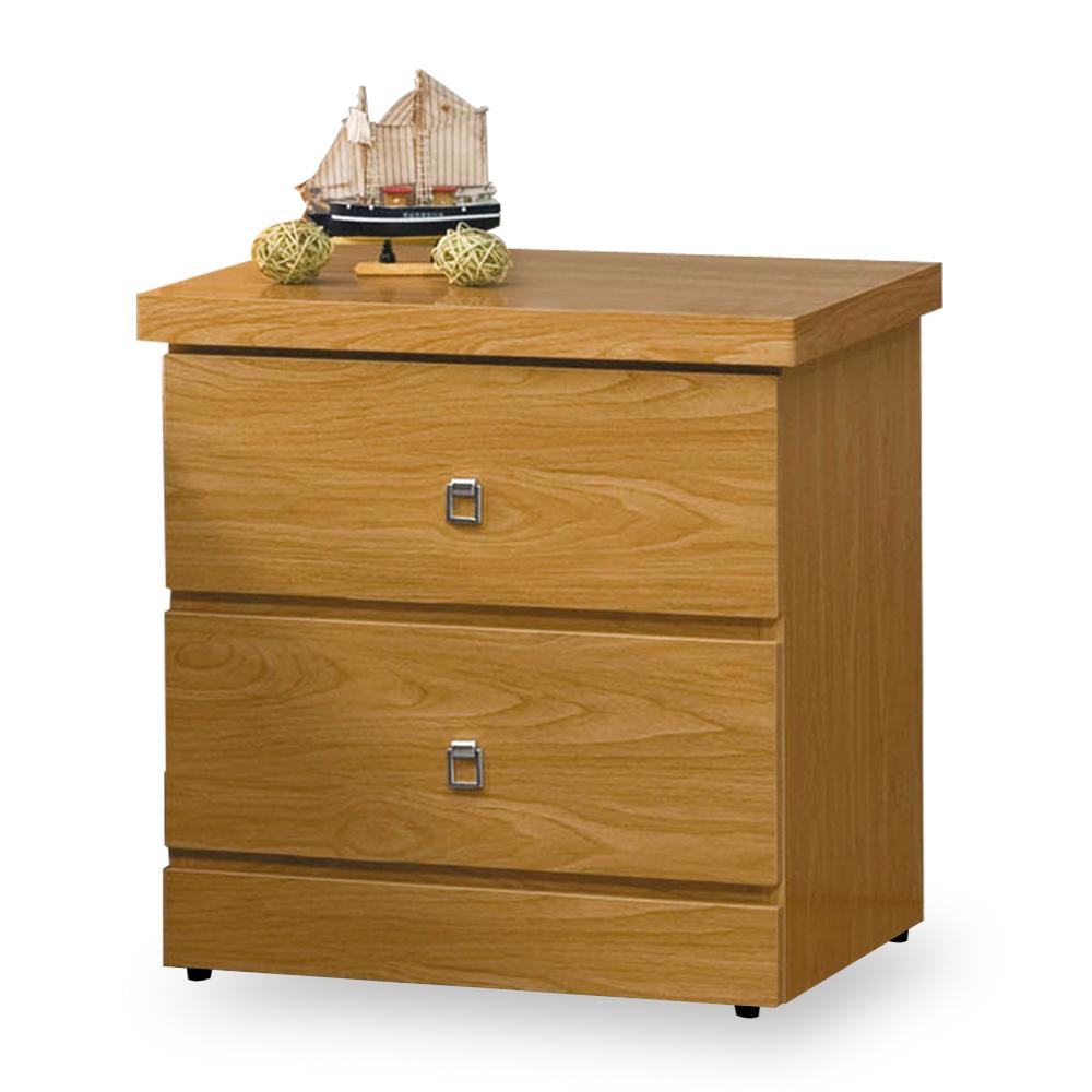 時尚屋 艾麗莎1.6尺床頭櫃 寬48.5x深39.4x高48.5cm