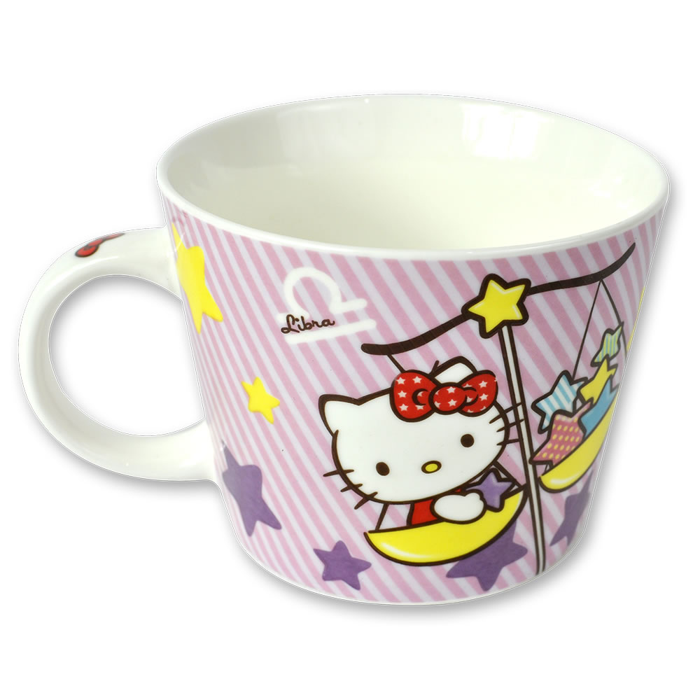三麗鷗Hello Kitty星座馬克杯-天秤座