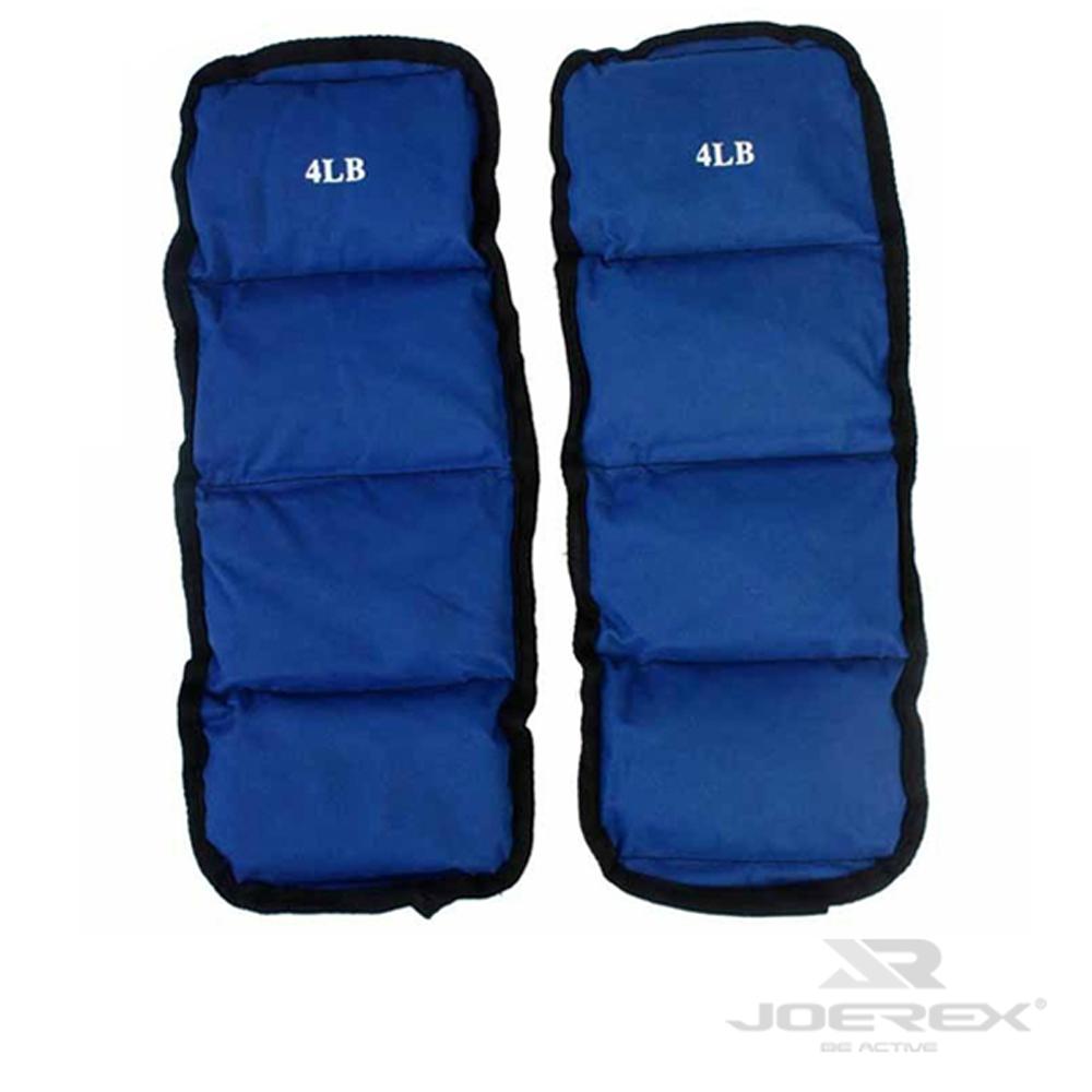 日本品牌【JOEREX】8磅綁腿沙袋/沙包組-JW08