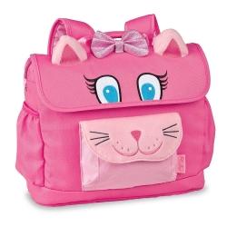 美國Bixbee - 3D動物童趣系列甜美粉貓咪小童背包