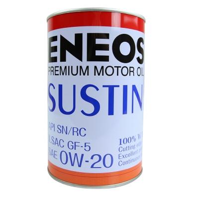 ENEOS SUSTINA 0W~20化學合成機油 4入