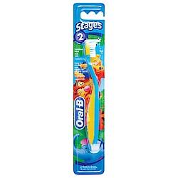 歐樂B 兒童牙刷 (2-4歲)(顏色隨機出)