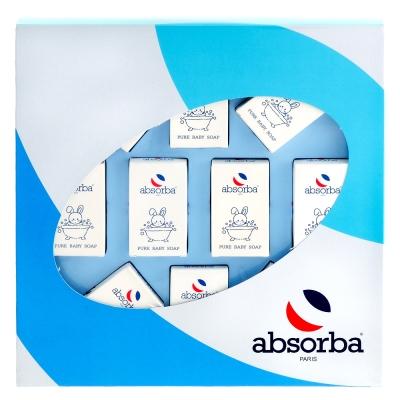 Absorba嬰兒香皂10入禮盒