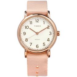 TIMEX 天美時  INDIGLO專利冷光照明手錶-米