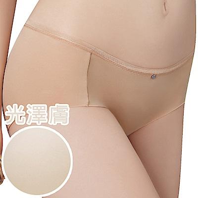 思薇爾 嗨Q Bra系列M-XL素面無痕低腰平口內褲(光澤膚)